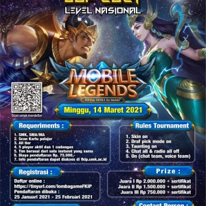FKIP UMK Gelar Lomba Mobile Legends Cup 2021
